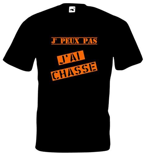 Steefshirts Herren T-Shirt schwarz schwarz Small Schwarz
