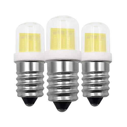 SES E14 LED Lampe 3W Glühbirne Ersatz 30W Kühlschranklampe T22 Halogenlampen, Dimmbar Warmweiß 3000K Leuchtmittel, 220-240V, für Dunstabzugshaube/Himalaya Salzlampe, 3er Pack [MEHRWEG] -