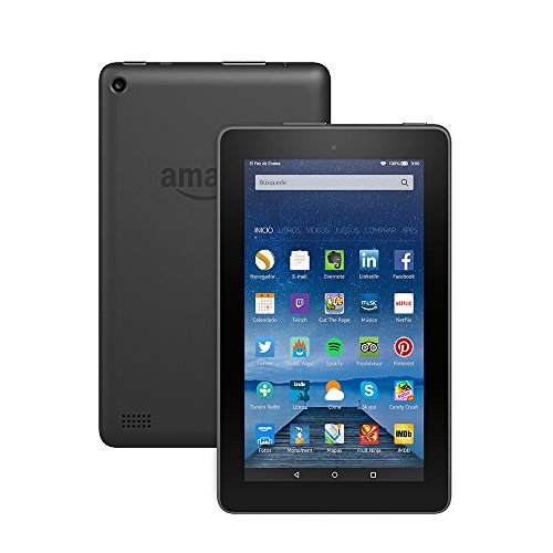 Tablet Fire, pantalla de 7' (17,7 cm), Wi-Fi, 8 GB (Negro) - incluye ofertas especiales