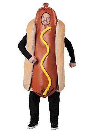 Adult Hot Dog Kostüm - ST ()