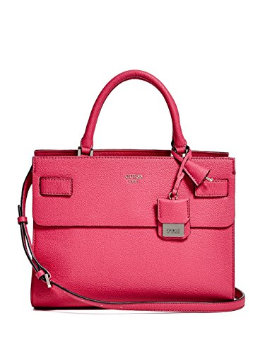 Guess Damen Cate Satchel Handtaschen, Einheitsgröße FUCHSIA