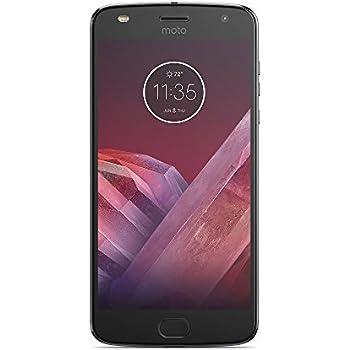 Motorola Moto Z2 PLAY SM4490AC3H1 Smartphone, Memoria Interna da 64 GB, Grigio Lunare