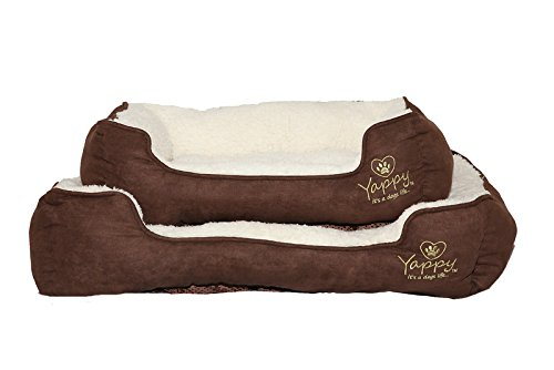 yappy-roxy-range-dog-bed-small-to-medium-rectangular-shaped-cushion-nested-dog-bed-brown-suede-cream