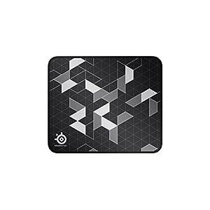 SteelSeries QcK Limited – Gaming-Mauspad – 320mm x 270mm x 2mm – Langlebige Nähte – Stoff – Schwarz