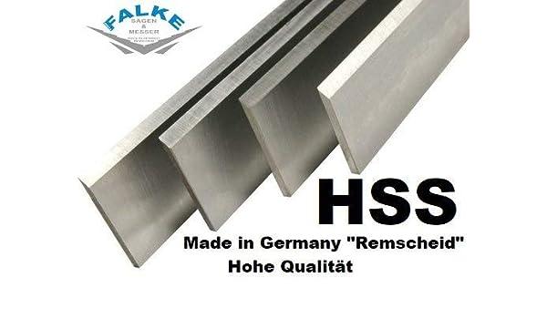 4 St/ück Bernardo SP 500 HSS Hobelmesser 510x35x3mm