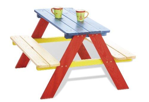 Kinder-outdoor-möbel (Pinolino - 201616 - Kindersitzgruppe Nicki - praktisches Sitzmöbel, Maße 90 x 79 x 50 cm)