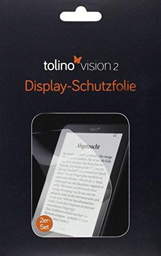 tolino vision Schutzfolie, glänzend: kompatibel für alle tolino vision Modelle