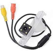 Asistente de aparcamiento para cámara de visión trasera de coche KIA Carens FG 2013 2014-2017 LED CCD impermeable visión nocturna con grupos de alambre