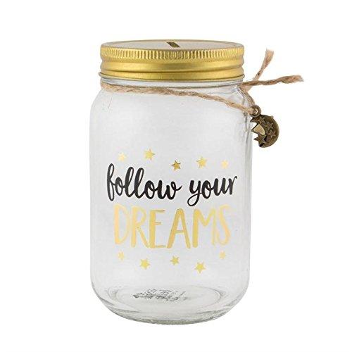 Spaarpot Follow your dreams