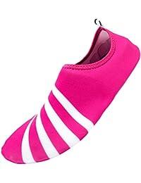 Vogstyle Unisex Strandschuhe/Aquaschuhe/Surfschuhe/Yoga/Gymnastik/Laufschuhe Schnell Trocknend Schlüpfen Breathable Schwimmschuhe Surfschuhe für Damen Herren und Teenager