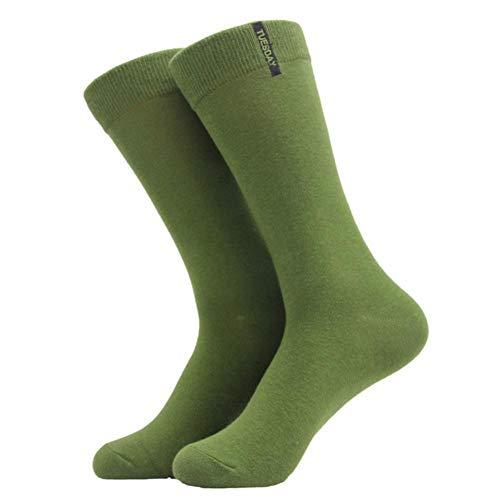 NZWAZI Socken Herrensocken Mode Herren Socken Baumwollnormallackgeschäft Socken Für Mann Stil Multi Farbige Socken Für Männer Kleid Gekämmt,C -