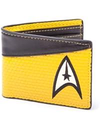 Star Trek Bi-Fold Command Logo Wallet (Yellow)