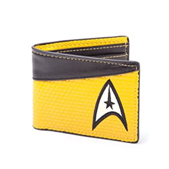 Star Trek Bi-Fold Command Logo Wallet (Yellow)