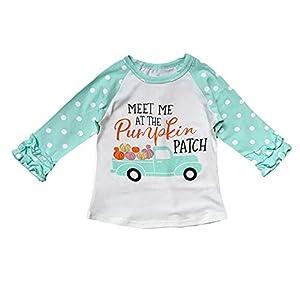 Proumy ◕ˇ∀ˇ◕Kleinkind Kleidung Mädchen Basic Fattern Kleid Rundhals Kleidung Set for Girls Langärmliges GekräUselte Rüschen Beiläufige Kleidung