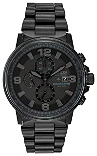 Citizen Men's Eco-Drive Nighthawk Watch CA0295-58E (B005MKGP6Q) | Amazon Products