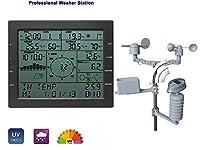 Caratteristiche del prodotto: la misurazione ad alta precisione può essere utilizzata per comprendere la temperatura interna ed esterna e l'umidità e la pressione, le precipitazioni, l'indice UV, l'illuminamento, l'indice di calore, la velocità del v...