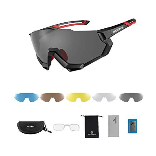 Erwachsene Fahrradbrille Winddicht Staubdicht Sanddicht Anti-Fog UV-Schutz Mountainbike Motocross Outdoor Sports Unisex Sonnenbrille Laufen Rennen Reiten Angeln