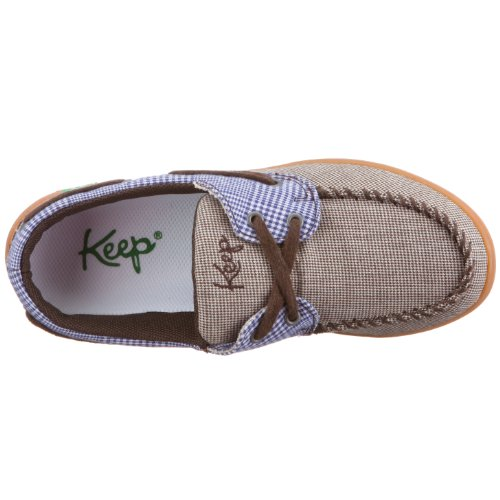 Keep Benten, Baskets mode mixte adulte Plaid marron
