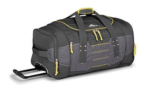 high-sierra-ultimate-access-20-wheeled-duffel-bag-mercury-charcoal-yell-o-26-inch-by-high-sierra