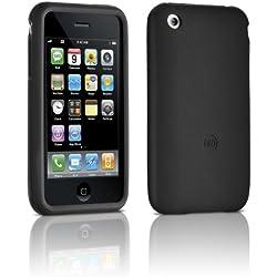 Philips DLM63081 Etui silicone fin pour iPhone 3G / 3GS Noir