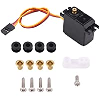 Best price for 2.2kg RC Car Servo, Waterproof Metal Gear Servo Compatible with 1/16, 1/14 and 1/12 RC Cars Accessory from radiocontrollers.eu