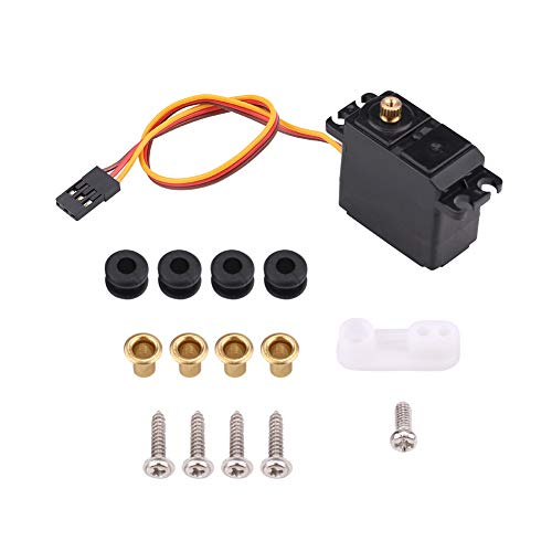2.2kg RC Car Servo, Waterproof Metal Gear Servo Compatible with 1/16, 1/14 and 1/12 RC Cars Accessory preisvergleich