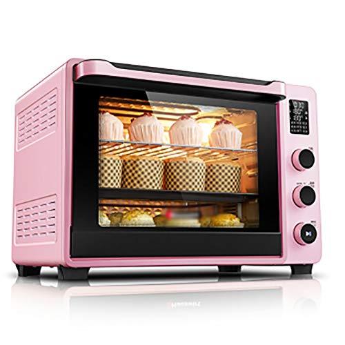 PANGU-ZC Mini Horno y Parrilla eléctricos Ovens-40L con múltiples Funciones de cocción,...