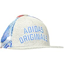 adidas CAP Gorra, Hombre, Gris-(Brgrin/Multco), FR : M (Taille Fabricant : M)