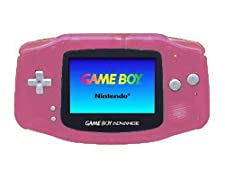 Nintendo Clear Pink Console (GBA)