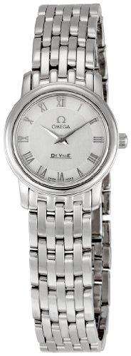 Omega 4570.33 DeVille - Reloj para mujer, esfera plateada