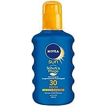 Nivea Sun Pflegendes Sonnenspray LSF 30, 1er Pack (1 x 200 ml)