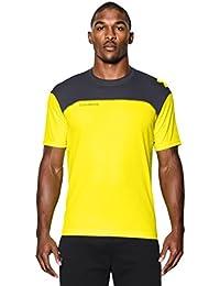 Under Armour Fitness y camiseta de tenis ct Acceleration té, hombre, color Amarillo - Snb/Sty, tamaño M
