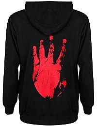 Unisex Hoodie Rapper Street Trendy Hoodie Pullover Pullover Oberbekleidung Männer Frauen Teen Casual Langarm mit Kapuze Tops Bluse mit Tasche S-XL