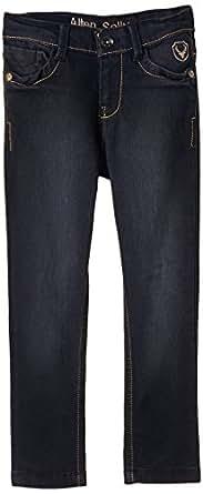 Allen Solly Junior Boys' Jeans (AKBDN315003_Black_15 - 16 years)
