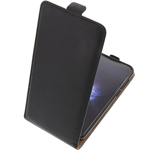 foto-kontor Tasche für Doogee X9 Pro Smartphone Flipstyle Schutz Hülle schwarz
