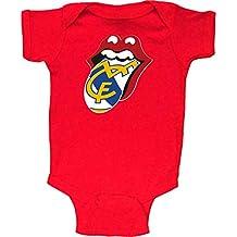 e898380f1 Body Bebé Stones madridistas Adulto niño Camisetas del Real Madrid Merengues