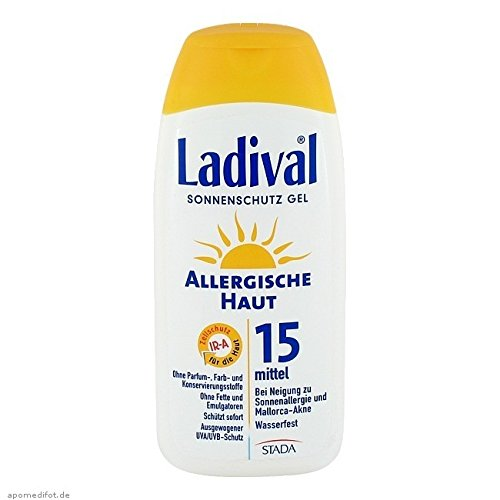 LADIVAL allergische Haut Gel LSF 15, 200 ml