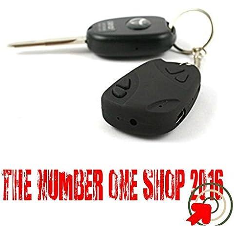 --Thenumberoneshop--Finto Portachiavi Auto Con Telecamera Spy Nascosta 4GB Di Memoria(in
