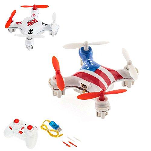 4.5 Kanal 2.4GHz Nano RC ferngesteuertes mini-Drohne UFO-Modell 6-axis 3D Gyro inkl. Crash-Kit