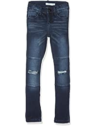 Name It Nittammy Skinny Dnm Pant Dark Nmt Noos, Jeans Fille
