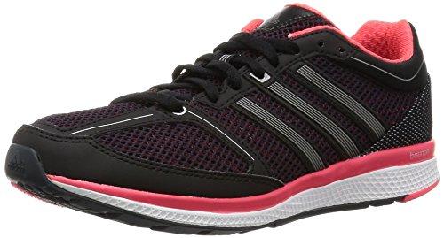 adidas Mana Rc Bounce W, Chaussures de Running Entrainement Femme Noir - Negro (Negbas / Hiemet / Rojimp)