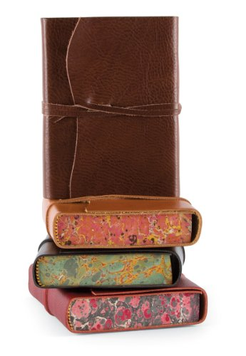 cavallini-leather-softbound-roma-lussa-journal-chocolate-brown-5x7ins-416-pages