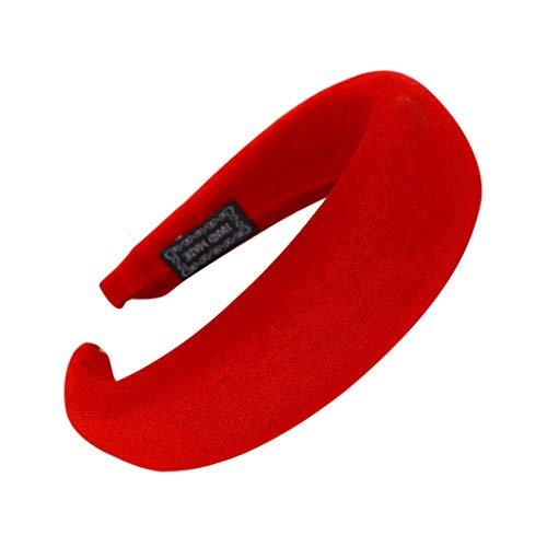 men, Kopfschmuck Zubehör Süße Candy Farben Mädchen Haar Stirnband Mode Schwamm Haarband Frauen Haar Kopfband Einfache Kopfbedeckung ()