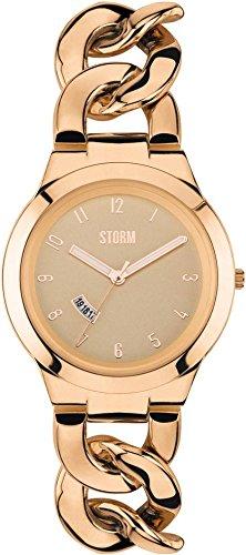 Storm 47215RG - Orologio da polso, donna, acciaio inox, colore: Oro rosa