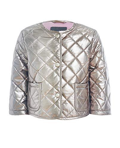 GULLIVER Baby Jacke Winterjacke Kinder Baby Mädchen Bronze Silber Übergangsjacke mit Knöpfen 74 80 cm 86 92 cm