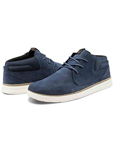 Volcom El Dorado Shoe, Baskets Basses Homme Bleu