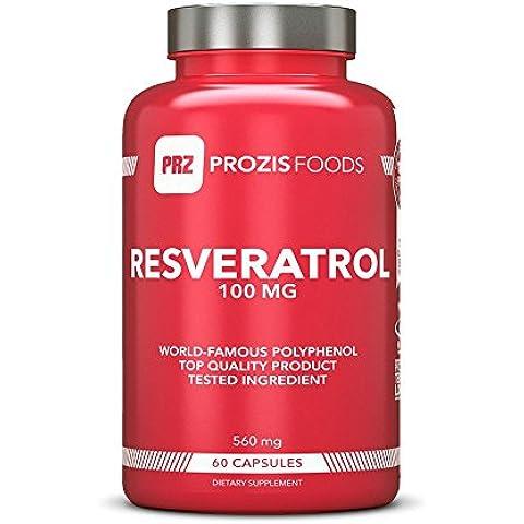 Resveratrolo 98% 250 mg 60 compresse