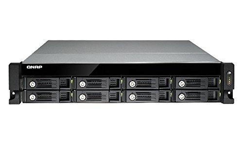 QNAP TVS-871U-RP-i3-4G NAS/Rackmount TVS-871U-RP-4G / 8-Bay/TurboNAS / 8GB RAM / 4-LAN / 10G-Ready
