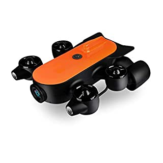 AI LIFE 150M underwater drone under water robot ROV AUV robot belt 4K UHD motion camera remote real-time steam detection for viewing, recording, searching