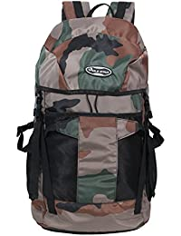 "POLE STAR ""TREK 44 Lt Camouflage Militry Print Rucksack I Hiking backpack"